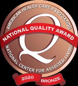 Image: 2020 Bronze Award Recipient